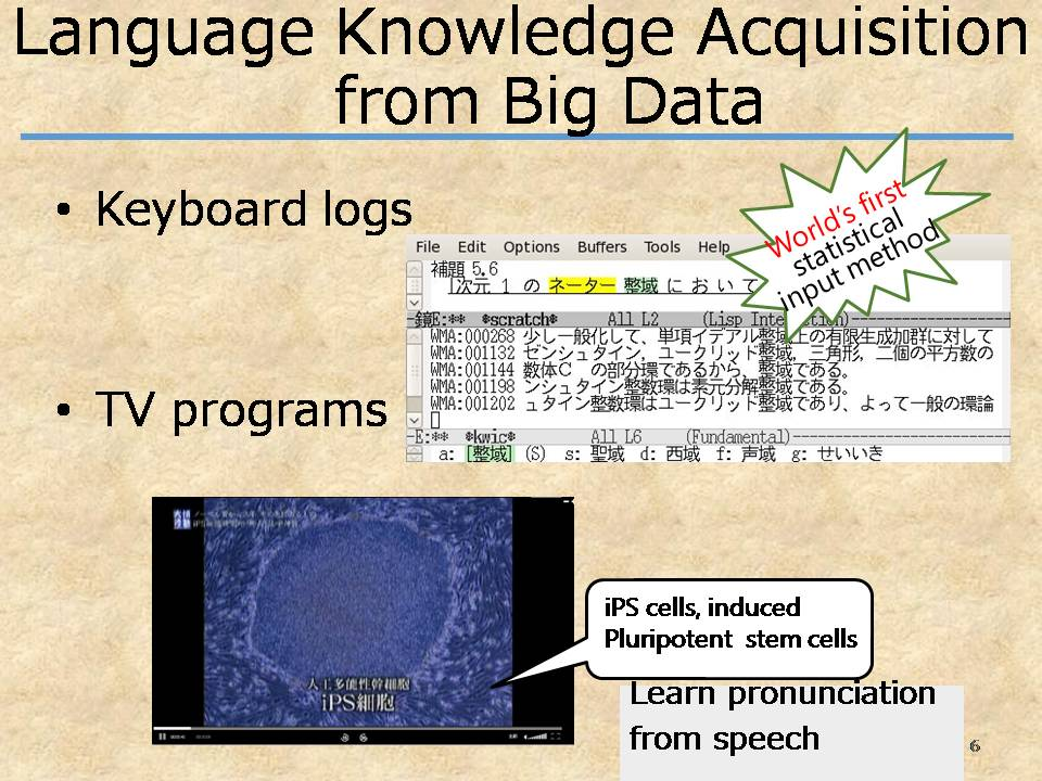 Knowledge Aquisition from Big Data