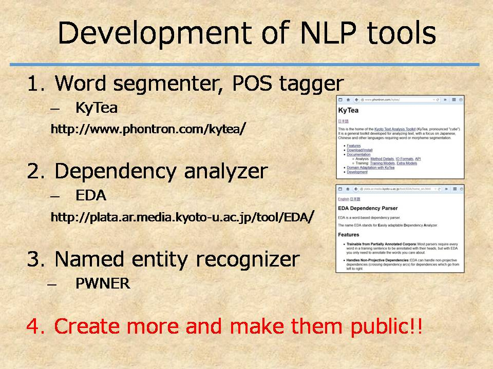 NLP Tools